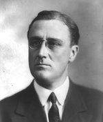 Portrait of Assistant Secretary of the United States Navy Franklin Roosevelt, circa 1920