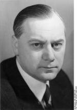 Portrait of Alfred Rosenberg, 5 Jan 1941