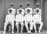 Norman Scott and other US Navy officers, Rio de Janeiro, Brazil, Aug 1938