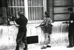 Simone Segouin fighting in central France, 19 Aug 1944