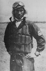 Seki in flight gear, probably before his last flight on 25 Oct 1944