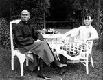 Chiang Kaishek and Song Meiling, Nanchang, Jiangxi Province, China, Oct 1927