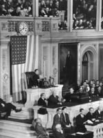 Song Meiling addressing the House of Representatives of the United States Congress, 18 Feb 1943, photo 3 of 4