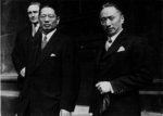 Song Ziwen and Ku Weichun in the United Kingdom, date unknown