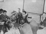 Chinese Foreign Minister Song Ziwen at a press conference, Chongqing, China, 1942-1945
