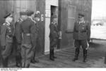 German Field Marshal Hugo Sperrle visiting an airfield, France, spring 1942, photo 4 of 5