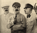 Molotov, Stalin, and Voroshilov, 1937