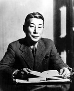 Chiune Sugihara at his desk, date unknown