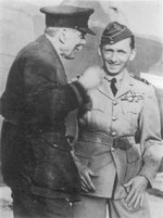 Lord Trenchard and Tedder, during WW2, exact date unknown