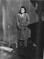 Iva Toguri at Radio Tokyo, Japan, 5 Dec 1944, photo 1 of 5