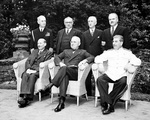 Attlee, Truman, and Stalin at Potsdam Conference, circa 28 Jul to 1 Aug 1945, photo 5 of 5