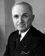 Portrait of Harry Truman, circa 1945