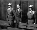 Edmund Veesenmayer at the Nuremberg Trials, Germany, 1946-1949