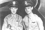 US Army aviators 2nd Lt. Kenneth M. Taylor and 2nd Lt. George S. Welch, date unknown
