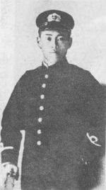 Portrait of Yamamoto just prior to the Russo-Japanese War, 1905