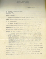 Request for Executive Clemency for Yamashita, addressed to Truman, 5 Feb 1946, page 1 of 4
