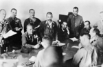 Japanese General Tomoyuki Yamashita and British Lieutenant General Arthur Percival discussed surrender terms at the Ford Motors Factory, Bukit Timah Road, Singapore, 15 Feb 1942