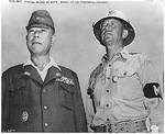 Yamashita with MP-Major Kenworthy, Manila, Nov 1945