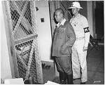 Yamashita imprisoned at Manila, circa Oct-Nov 1945