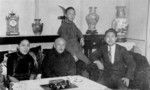 Zhang Jinghui with family, date unknown