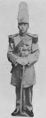 Zhang Jinghui in uniform, circa early 1920s