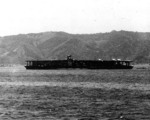 Akagi in Sukumo Bay, Kochi Prefecture, Japan, 27 Apr 1939