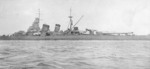 Aoba after outfitted with catapult, circa 1930-1937