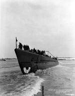 The launch of submarine Apogon, 10 Mar 1943