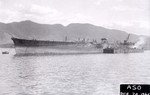Incomplete Unryu-class carrier Aso, Kure, Japan, 20 Dec 1946