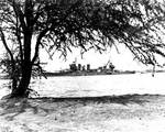 Astoria arriving at Pearl Harbor with Task Force 17, 27 May 1942