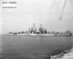 USS Astoria off Mare Island Naval Shipyard, California, United States, 21 Oct 1944, photo 2 of 3