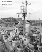 USS Astoria at Mare Island naval Shipyard, California, United States, 21 Oct 1944; photo 2 of 4