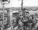 USS Astoria at Mare Island naval Shipyard, California, United States, 21 Oct 1944; photo 3 of 4