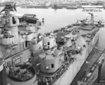 USS Astoria at Mare Island naval Shipyard, California, United States, 21 Oct 1944; photo 4 of 4