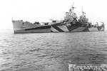 Baltimore painted in MS33 / 16D camouflage off Mare Island Navy Yard, 18 Oct 1944