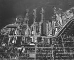 Puget Sound Navy Yard, Bremerton, Washington, United States, 25 Jul 1941, photo 2 of 4; note AVPs Barnegat, Biscayne, Casco, Mackinac, BB Colorado, AG Utah, AK Aroostook, and AR Prometheus