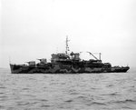 Biscayne off the Boston Navy Yard, Massachusetts, United States, 7 May 1942