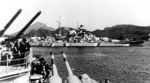 Bismarck in Norway, seen from Prinz Eugen, 21 May 1941