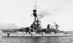 Battleship Bretagne at Toulon, France, 1919