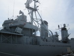Museum ship USS Cassin Young at Charlestown Navy Yard, Boston, Massachusetts, United States, 28 May 2013, photo 2 of 6