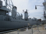 Museum ship USS Cassin Young at Charlestown Navy Yard, Boston, Massachusetts, United States, 28 May 2013, photo 5 of 6