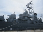 Museum ship USS Cassin Young at Charlestown Navy Yard, Boston, Massachusetts, United States, 28 May 2013, photo 3 of 6
