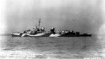 USS Cassin Young in Outer Harbor, San Pedro, California, United States, 13 Jan 1944, photo 1 of 2