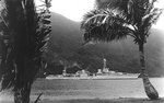 Chicago at Tutuila, American Samoa, during her shakedown cruise, 1931