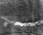 Chikuma during the battle off Samar, 25 Oct 1944