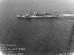 Concord underway in Puget Sound, WA, 1 Nov 1944