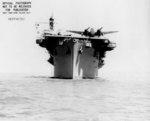 USS Copahee in San Francisco Bay, California, United States, 9 May 1943, photo 3 of 3; note two PV-1 Ventura aircraft