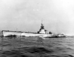 Port side view of USS Croaker, circa 1944-1945