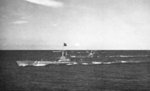 USS Flying Fish and other submarines en route to Pearl Harbor, US Territory of Hawaii, 1-4 Jul 1945