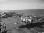 Albacore aircraft aboard HMS Formidable, 1940s